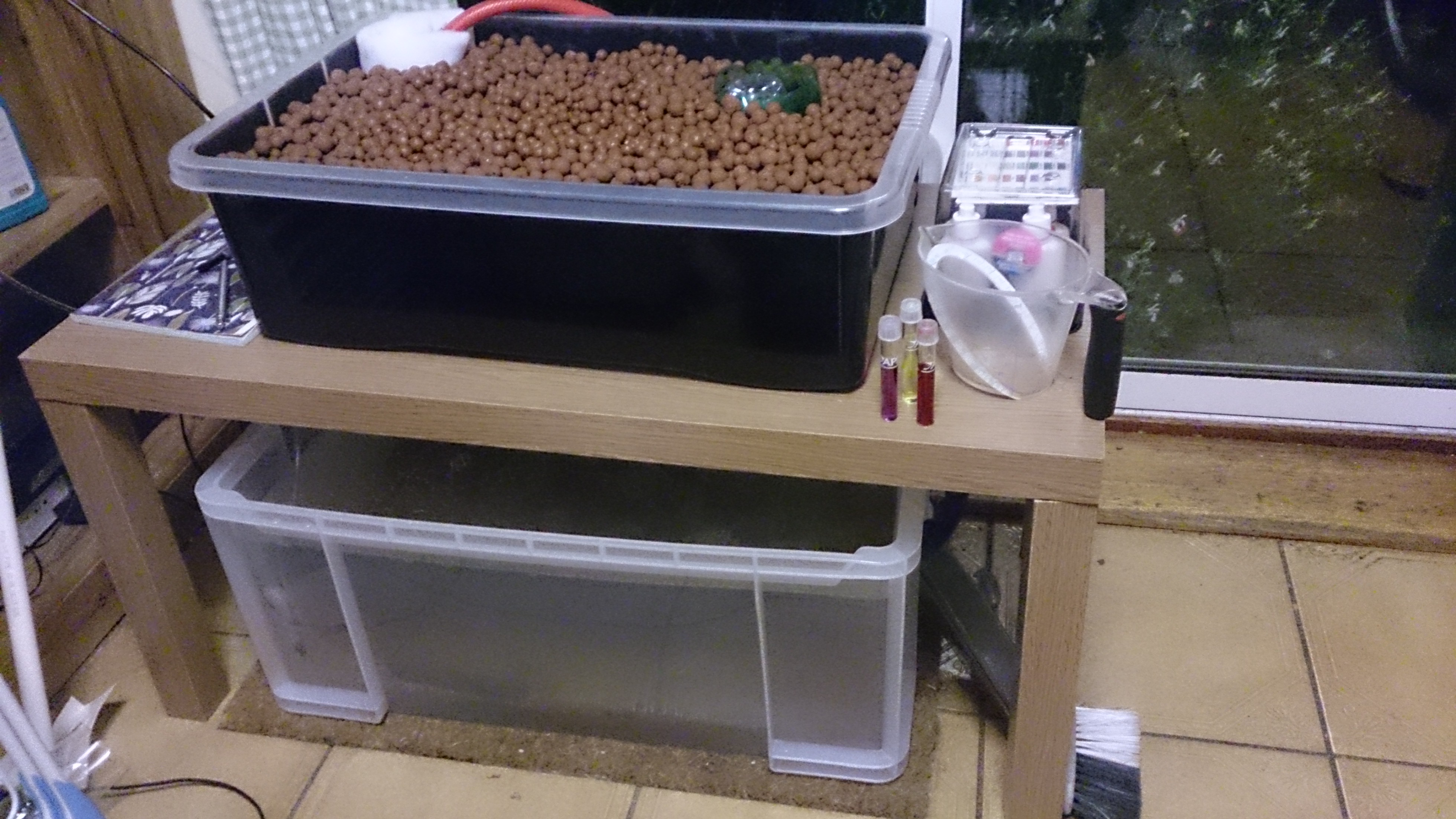 Jasmin s Home Aquaponic System – Experiments In Aquaponics